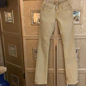 True Religion double stitch authentic jeans!